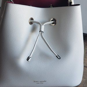 *AUTHENTIC* Kate Spade Eva Leather Bucket Bag NWT